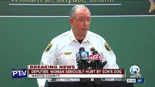 Martin County deputies shoot, kill dog that attacked woman