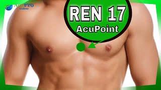 Ren 17 Acupuncture point