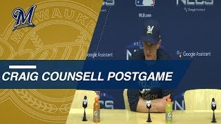 NLCS Gm 7: Counsell on pitching struggles in Game 7