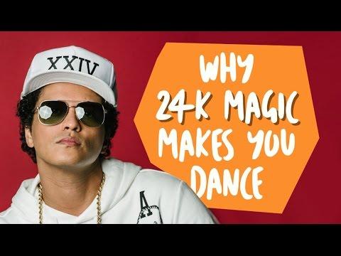 Why Bruno Mars 24K Magic Makes You Dance