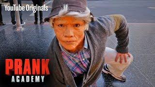 OLD MAN BREAKDANCE PRANK!!! ft. D-TRIX   Prank Academy   Episode 6