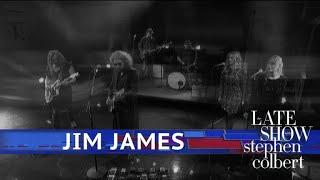 Jim James Performs