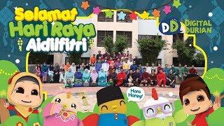 Team Digital Durian Menyambut Hari Raya 2017 | Warna Warni Aidilfitri