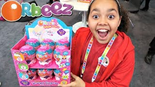 NEW Orbeez Wow World Surprise Presents NYC Toy Fair | Toys AndMe