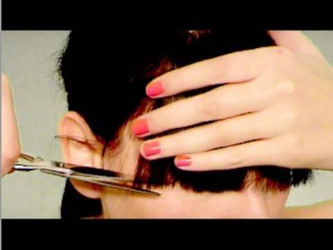 Corte de Flequillo Cut Your Own Bangs