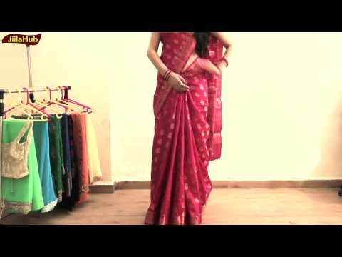 Xxx Mp4 How To Wear Perfect South Indian Silk Saree To Look Elegant Yet Hot Jiilahub Saree Draping 3gp Sex