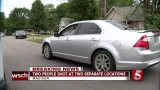 Two Injured In Madison Shootings