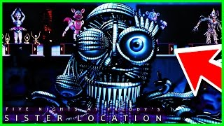 FNAF Sister location 🌟CUSTOM NIGHT🌟 (Fan Game)  - Five Nights at Freddy's Sister Location Gameplay