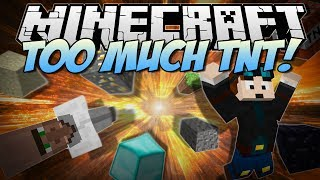 Minecraft   TOO MUCH TNT! (Over 35+ NEW TNTs & Explosives!)   Mod Showcase [1.6.4]