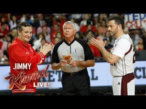 Kimmel vs Cruz Blobfish Basketball Classic