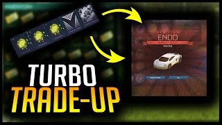 AMAZING TURBO TRADE UP! PAINTED ENDO + MORE | ROCKET LEAGUE