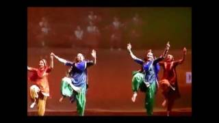 Holi Mela 2016 Bhangra Folk Dance (Amritsar Project Moscow)