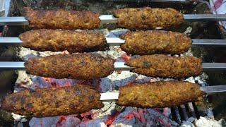 Seekh kabab 5 minute Recipe - Delhi Famous Original Seekh kebab Recipe