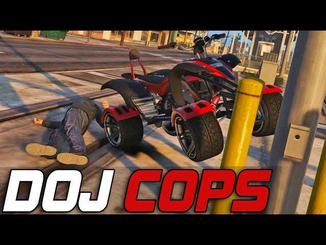 Dept. of Justice Cops #322 - ATV Madness (Criminal)