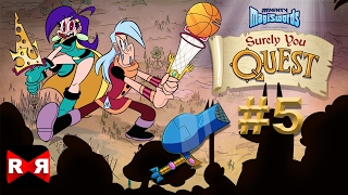 Surely You Quest – Mighty Magiswords Casual RPG - iOS / Android Gameplay Part 5