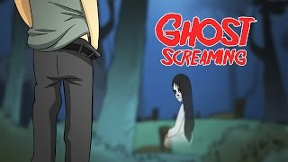 Kartun Lucu Teriakan Hantu - Ghost Screaming Funny Cartoon