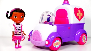 Doc McStuffins Rosie The Rescuer and Many Surprise Toys for Kids