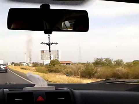 Quema de basura en Sabinas Hidalgo