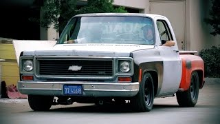 Muscle Truck Revamp on a 1974 Chevrolet C10! - Hot Rod Garage Ep. 5