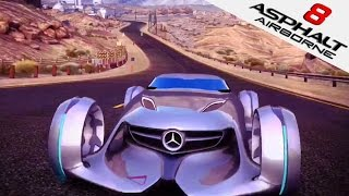 ASPHALT 8 | Mercedes-Benz Silver Lightning (iOS/iPad Gameplay) Dragon Tree | Asphalt 8: Airborne