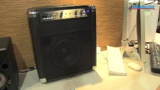 Alesis Transactive Wireless Portable PA Overview - Sweetwater at Winter NAMM 2013