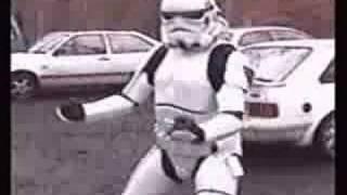 Funny Stormtrooper dance!