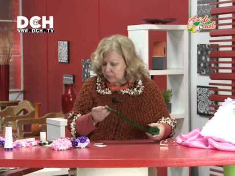 Cojín con Hortensias Irma Ramos