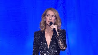 Celine Dion pays tribute during Vegas show