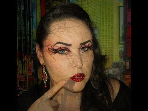 Halloween Makeup Diablesa Deluxe