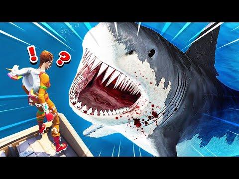 NEW BABY SHARK ATTACK CUSTOM GAMEMODE Fortnite Battle Royale