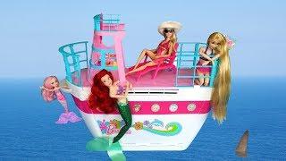Barbie Cruise Ship Toy Unboxing Setup باربي كروز سفينة لعبة Barbie Brinquedo de Cruzeiro navio