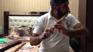 Flute lesson : kaise main kahoon from RHTDM