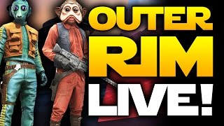 Star Wars Battlefront Outer Rim DLC LIVE! GIVEAWAY! Multiplayer Gameplay with Greedo and Nieb Nunb!