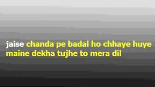 TU HI WOH HASEEN HAI Karaoke with lyrics Super hit song KHWAAB (1978)