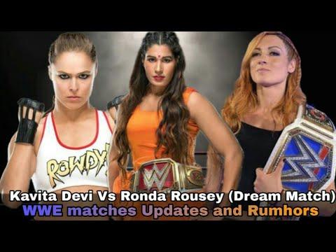Xxx Mp4 Kavita Devi Vs Ronda Rousey WWE Matches Updates Rumours And Highlights 3gp Sex