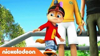 ALVINNN!!! and the Chipmunks | 'Running All Night' Karaoke Video | Nick