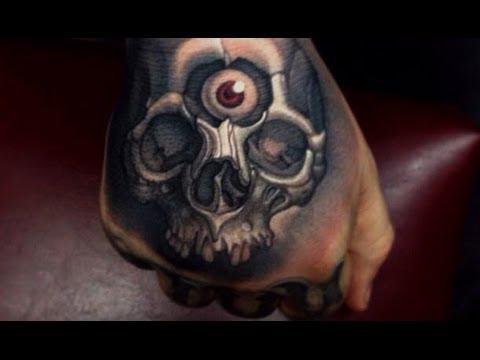 3D Skull Tattoo Designs Best 3D Tattoos Awesome Tattoos Amazing Tattoo Ideas