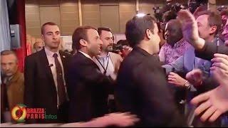 Mobebissi salué par le futur Président français Emmanuel MACRON
