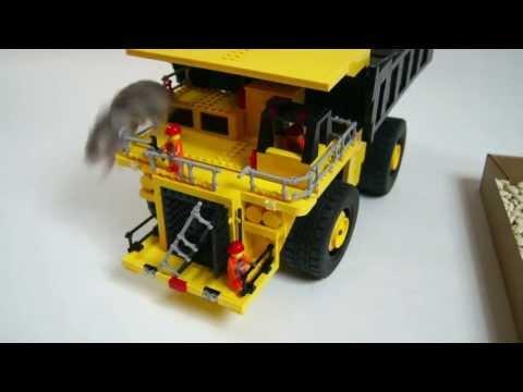 Lego Technic Motorized Komatsu 930e Dump Truck