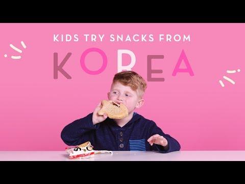 Xxx Mp4 Korean Snacks Kids Try HiHo Kids 3gp Sex