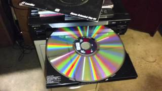Sony MDP-500 Laserdisc player CD CDV LD Tested and working.