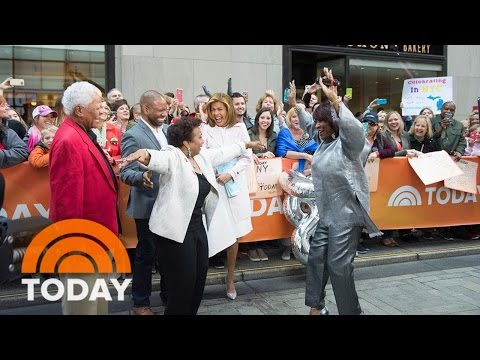 80 Year Old Mom Gets A Mother's Day Surprise From Patti LaBelle And Hoda TODAY