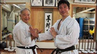 KARATE LEGACY! Tatsuya Naka (JKA) meets Morio Higaonna (Goju-ryu)