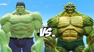 INCREDIBLE HULK VS THE ABOMINATION - EPIC BATTLE