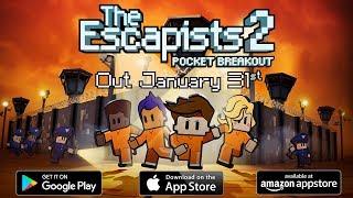 The Escapists 2: Pocket Breakout - Announcement Trailer (iOS, Android, Amazon)