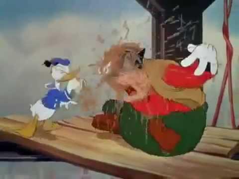 EL REMACHADOR PATO DONALD. Dibujos animados clasicos de Disney en español latino
