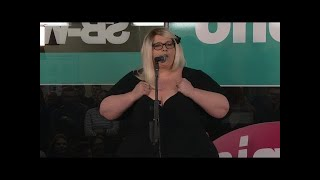 Nicole Jäger - War früher mal übergewichtig - NightWash live