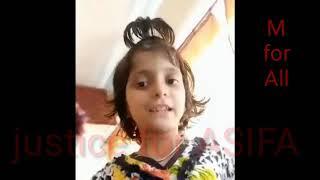 आसिफा का आखरी वीडियो  LAST VIDEO OF ASIFA, aur MOUT KE BAAD KA VIDEO, AEZAZ KHAN REWARD ON KILLER,