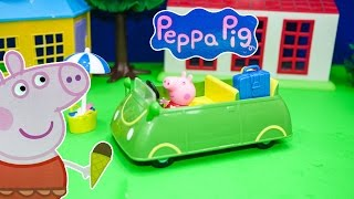 Funny PIG Nickelodeon  Holiday Car a  Video Toy Review