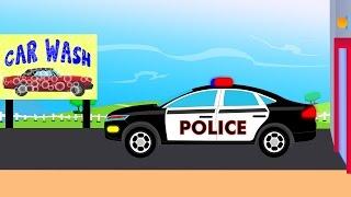 Police Car Wash | videos For Children | videos for kids